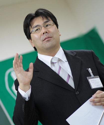 代表者 片岡貞継の写真です。